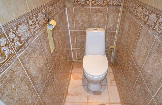 Пример отделки туалета