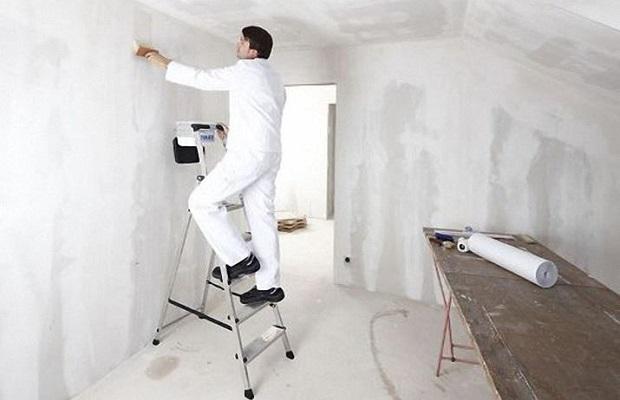Грунтовка стен перед покрытием