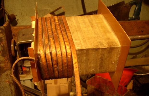 Вторичная обмотка сварочного трансформатора