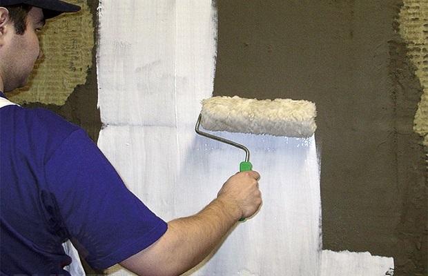 Обработка бетонных стен