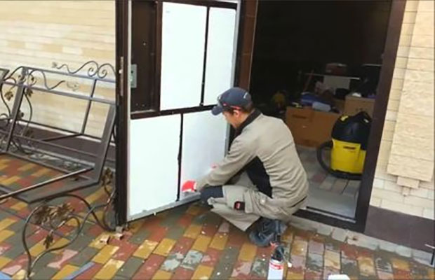 Как утеплить металлическую разъемную входную дверь – работа без особых усилий фото