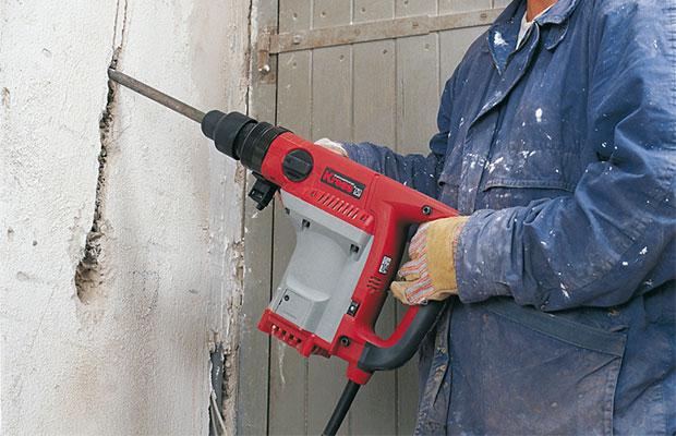 Устройство штробы в бетоне