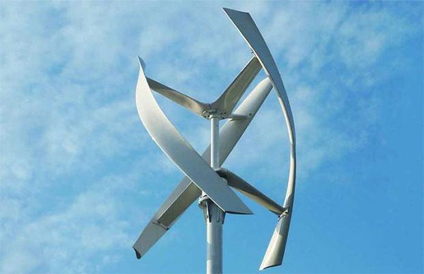 Ветряные генераторы с вертикальной осью могут работать при слабом ветре