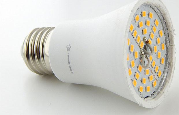 Современные лампы производятся с пластиковыми корпусами