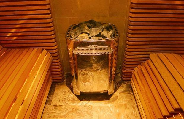 Электрическая печь для бани обычно потребляет около 7 кВт