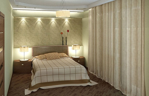 В спальне желательно установить розетки с обеих сторон от кровати