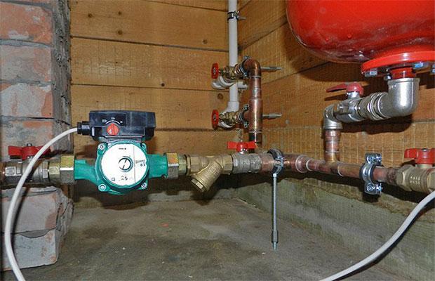 Газовое давление и отопление