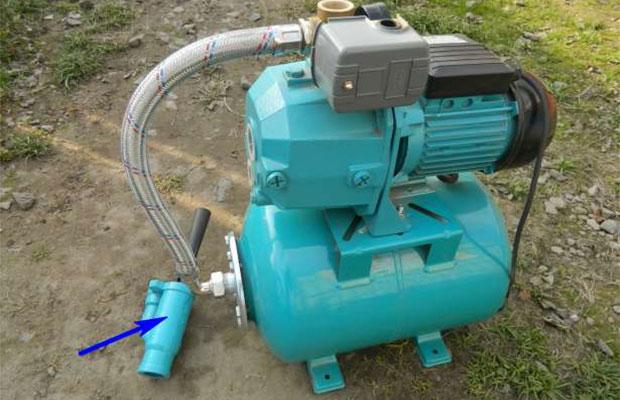 Внешний эжектор позволяет брать забор воды с большой глубины