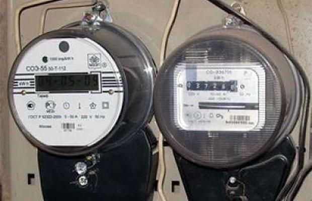 Существует два вида счетчиков - механические и электронные