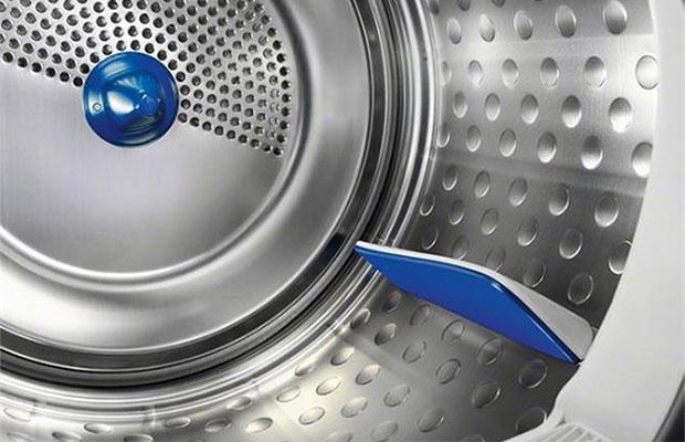 Желательно, чтобы барабан был сделан из качественной нержавейки и оснащен добавочными лопастями