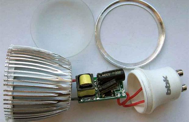 Светодиодные лампы – особенности устройства
