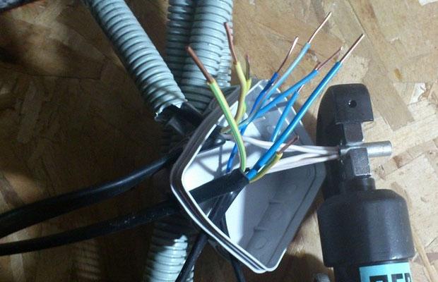 Опрессовка проводов