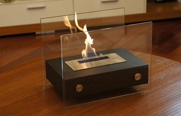 Настольный биокамин – чтобы любоваться огнем в офисе и дома