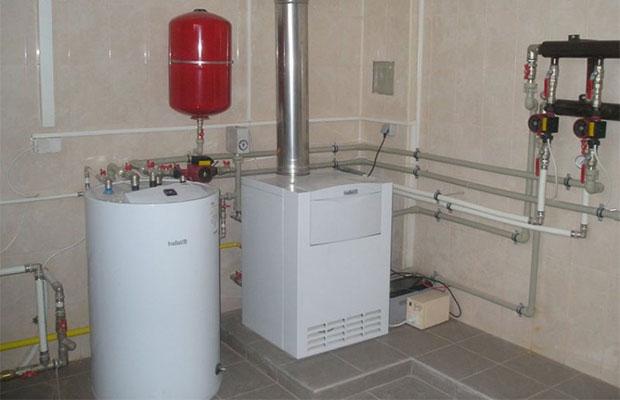 Газовый котел отопления дома
