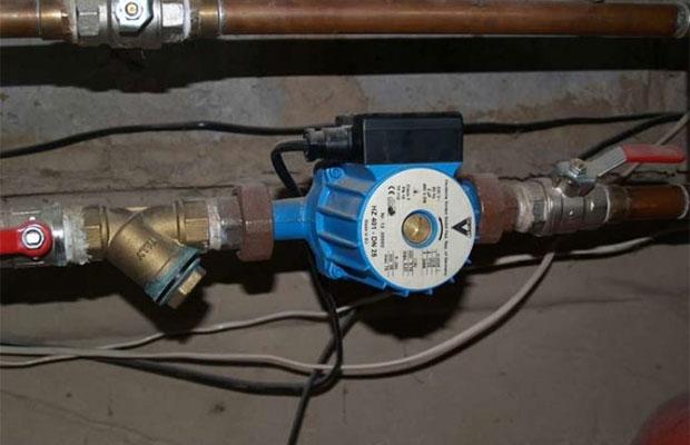 Циркуляционное устройство в системе отопления