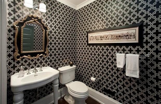Тщательно подходите к выбору обоев в ванную