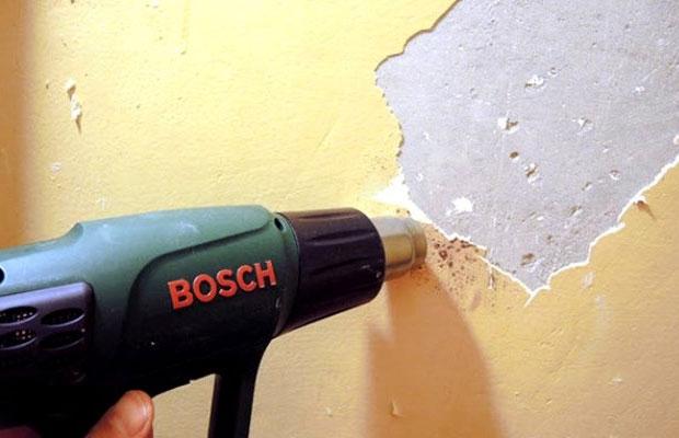 Выбор метода удаления краски зависит от нескольких факторов