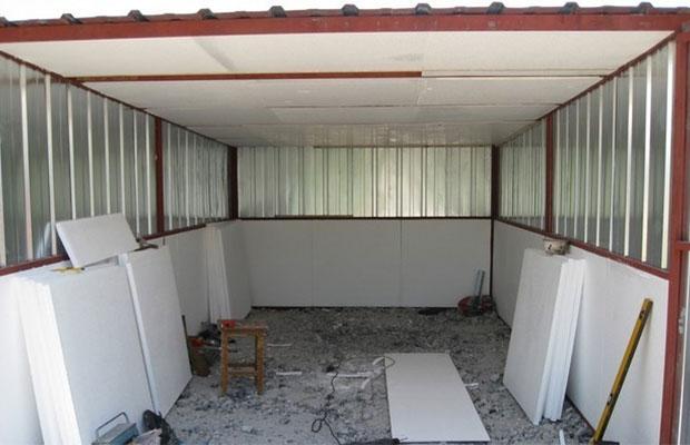 Монтаж пенопласта для утепления стен
