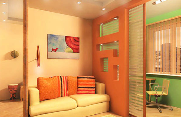Одно из достоинств раздвижных дверей - способность экономить пространство