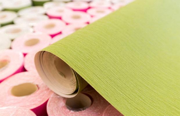 Виниловые обои изготовлены из двух слоев:верхний из ПВХ, анижний из бумаги или флизелина