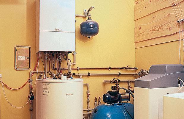 Двухконтурное устройство по нагревупредусматриваетодновременнуюработу по отоплению и снабжению нагретой водой