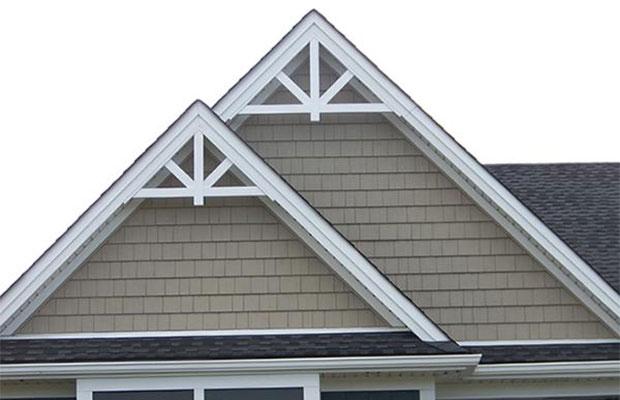 Лицевая часть крыши – фронтон