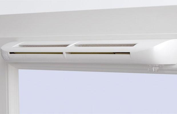 Приточные оконные клапаны - популярный метод обеспечения естественной вентиляции