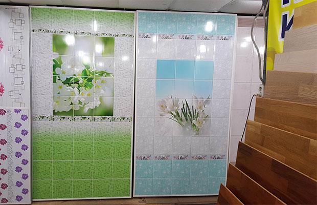 В магазинах представлен широкий ассортимент панелей из Европы и Китая
