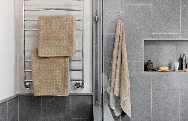 Правильно выбранный полотенцесушитель может стать частью интерьера ванной комнаты