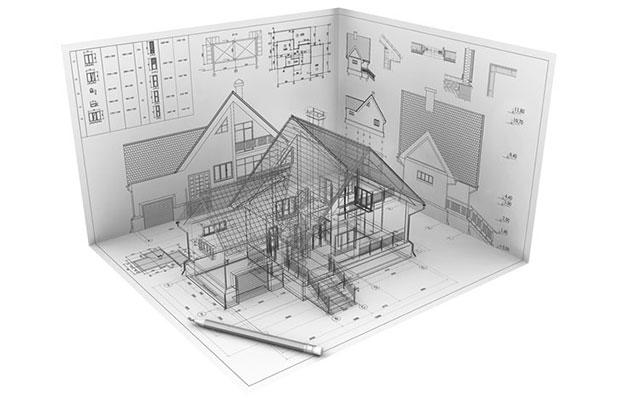 Эскизный проект индивидуального дома