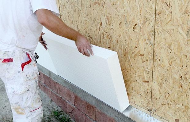 В бытовом строительстве плиты стандарта 15588 могут использоваться для наружной теплоизоляции здания