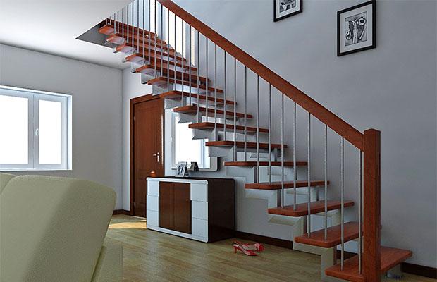 Особенности различных вариантов металлических лестниц