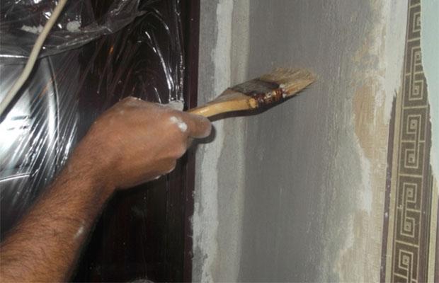 Подготовка поверхности оконного проема