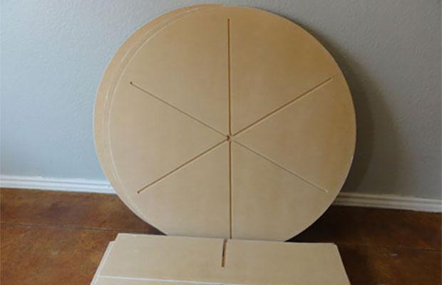 Полка-карусель – два варианта этажерки с поворотным механизмом