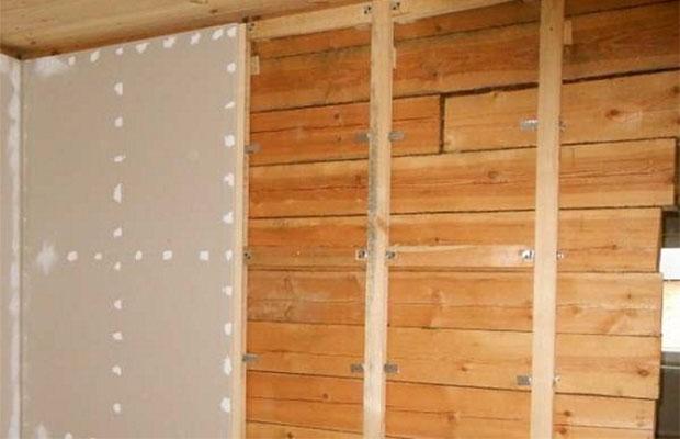 Обшивка стен влагостойким гипсокартоном - идеальная основа для укладки плитки