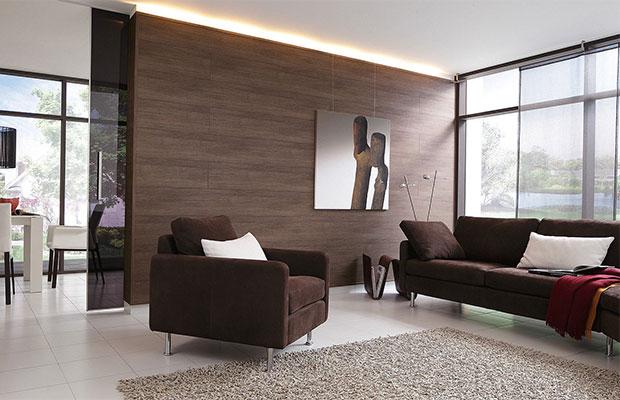 Декоративная составляющая является основным критерием выбора материала