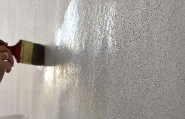 После высыхания грунта на поверхности образуется прозрачная пленка