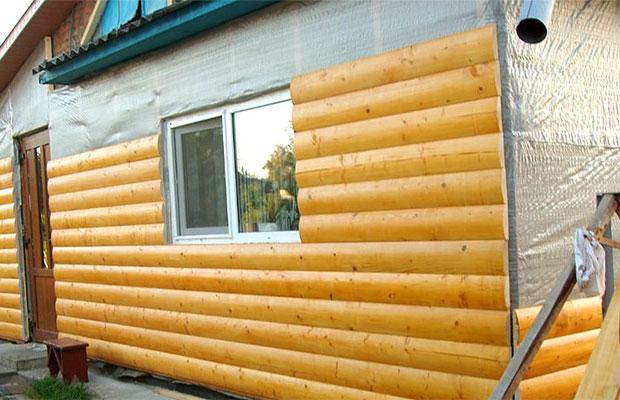 Блок хаус не дает никакой тепло гидро и звукоизоляции