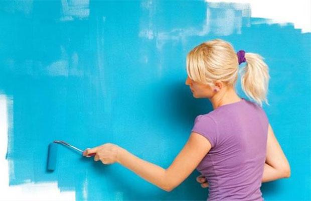 Водоэмульсионная краска - лучший вариант для ванной комнаты