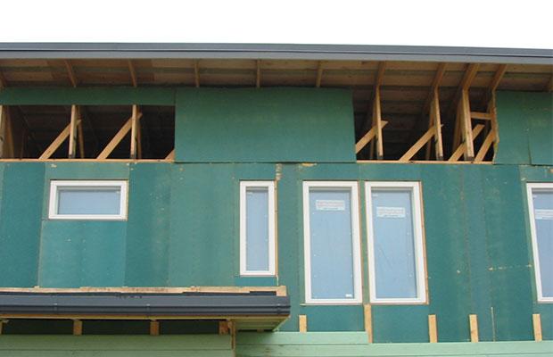 Для наружных отделочных работ используются ветрозащитные плиты Isoplaat