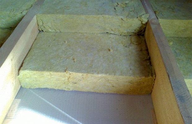 Минеральная вата обладает высокой эффективностью теплозащиты
