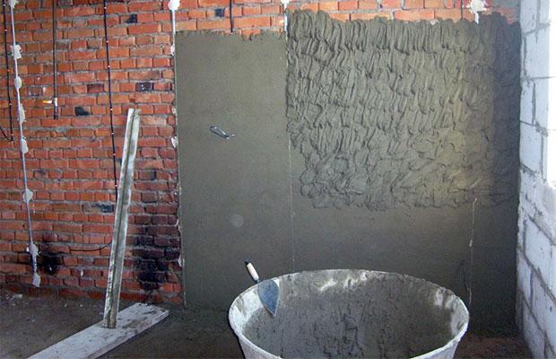 Маяки используются, чтобы достичь идеальной ровности стены при оштукатуривании