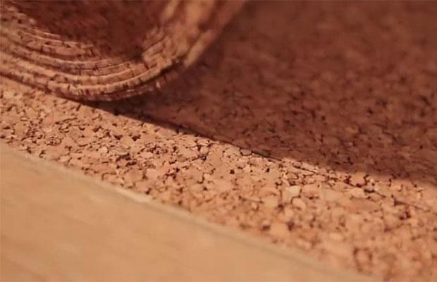 Пробковая подложка - абсолютно экологичный материал