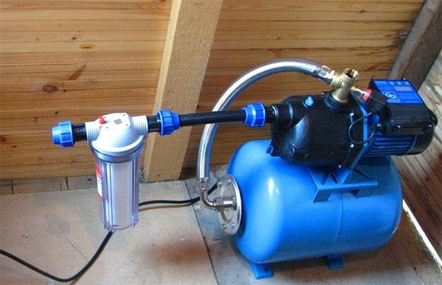 Насосная станция - основа внутреннего водопровода в доме