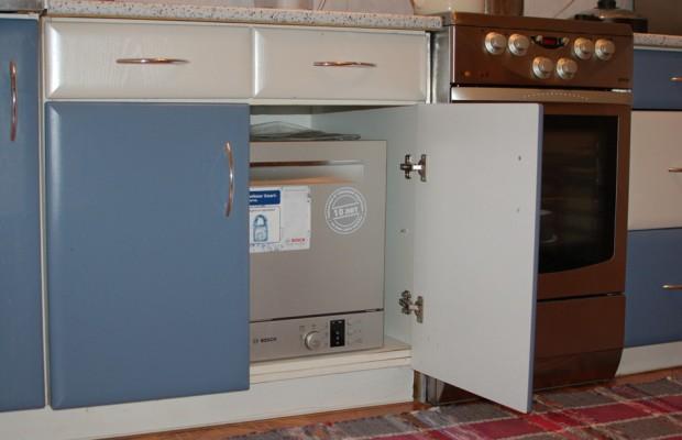 Встраиваемая модель посудомоечной машины по размерам должна соответствовать габаритам кухонной мебели