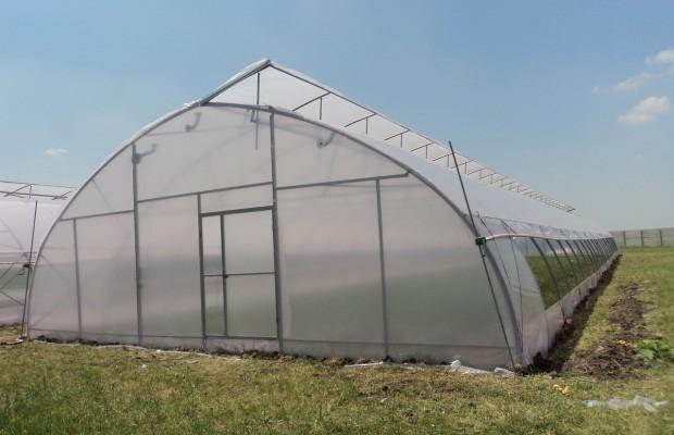 Подземная теплица позволяет получать урожай круглый год
