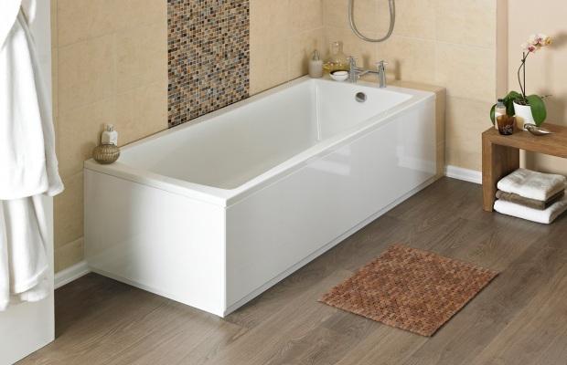 Акриловые ванны имеют привлекательный дизайн, но отличаются хрупкостью