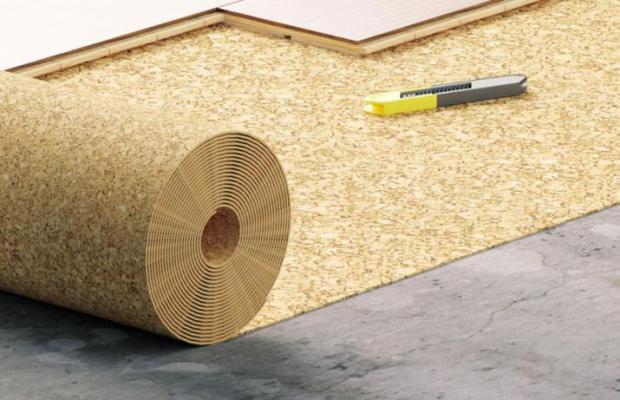 Подложка используется для защиты напольного покрытия и продления его эксплуатационного периода
