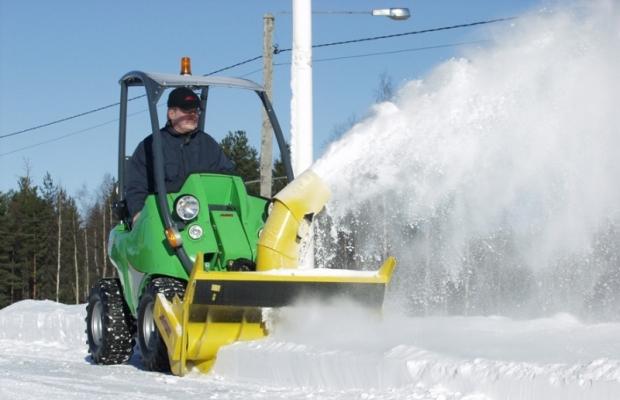 Выполняемые функции идентичны у всех моделей снегоуборочных машин
