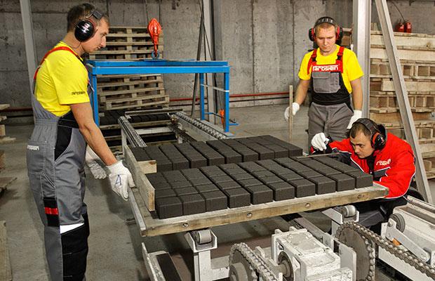Процесс производства плитки